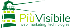 Logo PiùVisibile Verde
